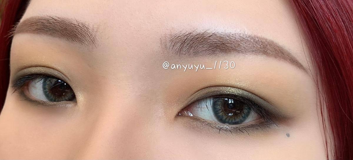 必入的綠色眼影盤,這個綠眼影不怕畫瘀青