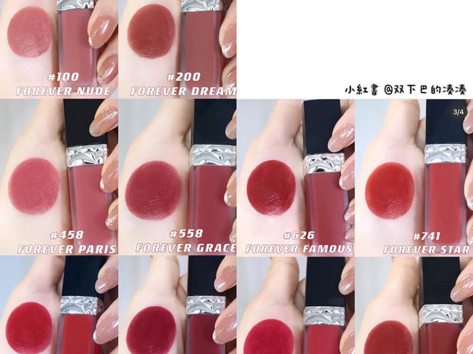 2021新品|Dior超完美持久唇露太美,真的必須要包色!