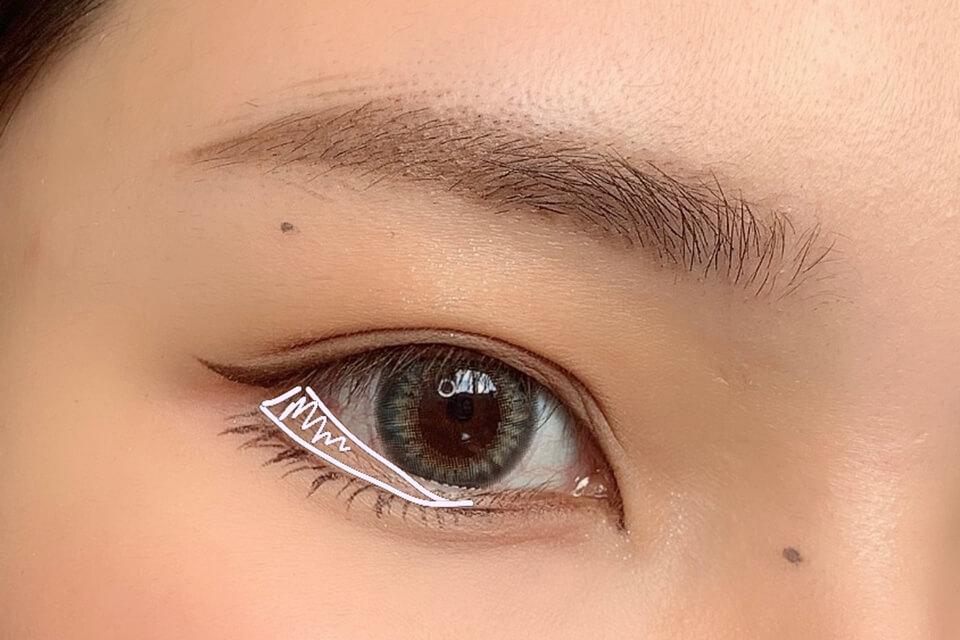 下睫毛畫法教學|畫下睫毛讓你學會無中生有之術!